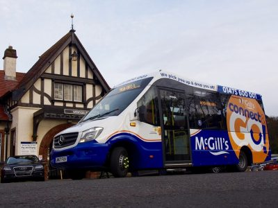 McGill's Launches new Demand Response Transport Service