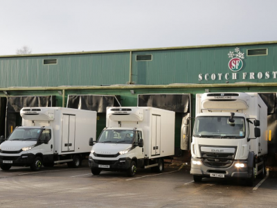 Scotch Frost of Glasgow Form new Hire Agreement with Fraikin