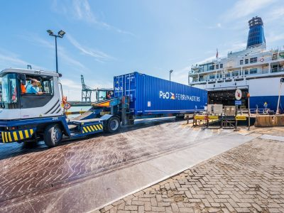 Larne-Cairnryan Is P&O Ferries' Route with the Highest Traffic