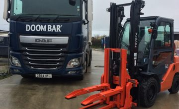 B&B Attachments Deliver Solution to UK Brewery