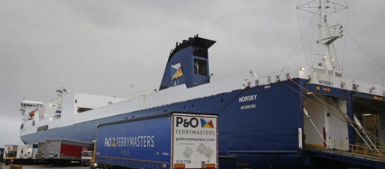 P&O Ferries Is Planning a New River Berth at Tilbury