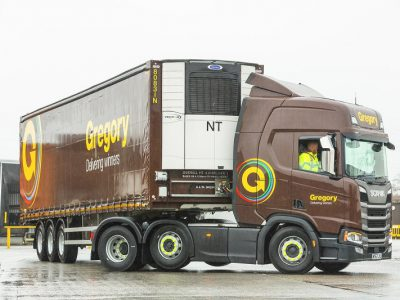 Gregory Distribution Acquires New Carrier Transicold Refrigerated Trailers