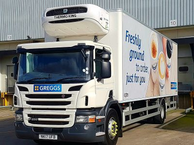 Greggs Uses Paragon's Routing and Scheduling Software