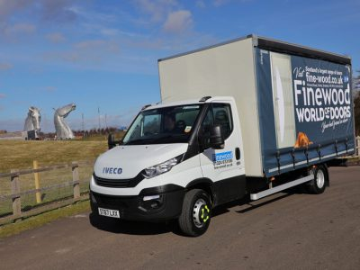 Fraikin Supplies Finewood Joinery with Two Vehicles