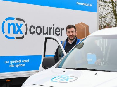 NX Courier Promotes One of Its Staff Members