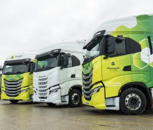 Hexagon Leasing Places Order for 100 New IVECO S-WAY Trucks