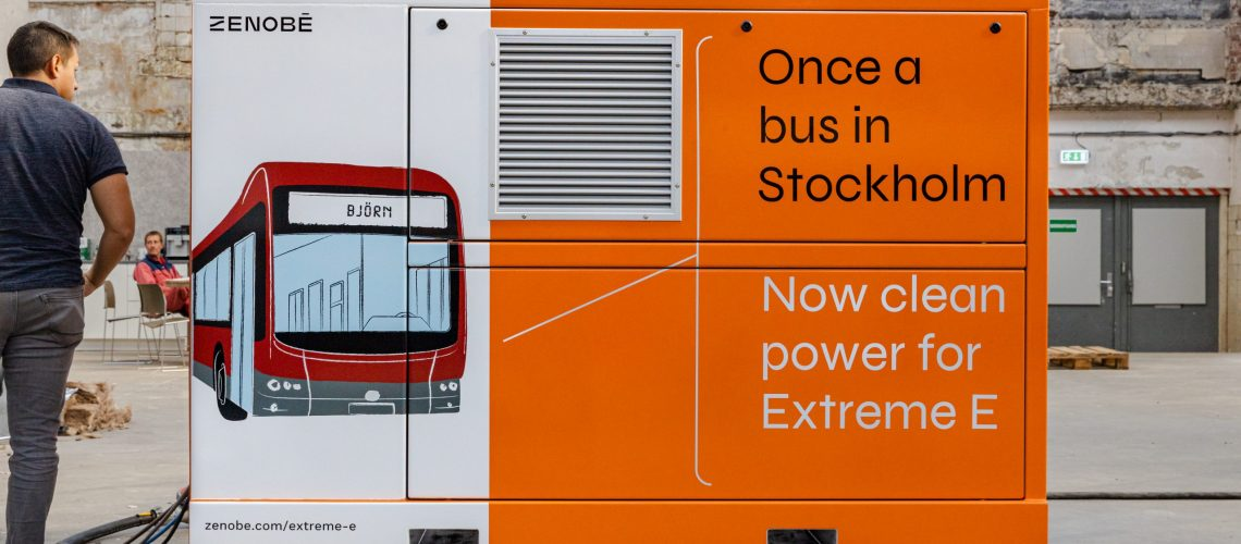 Zenobe Joins Extreme E as Official Energy Storage Supplier