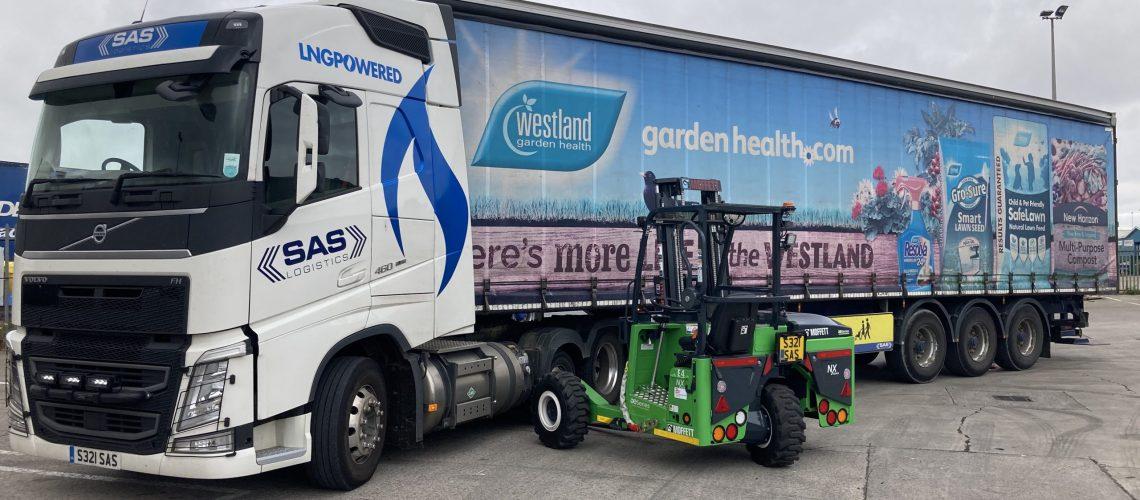 First UK Logistics Operator to Adopt Zero-Emission Forklifts