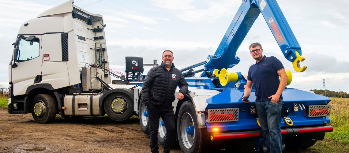 Yorkshire Supplier Strengthens Operations with MULTILIFT Trailer