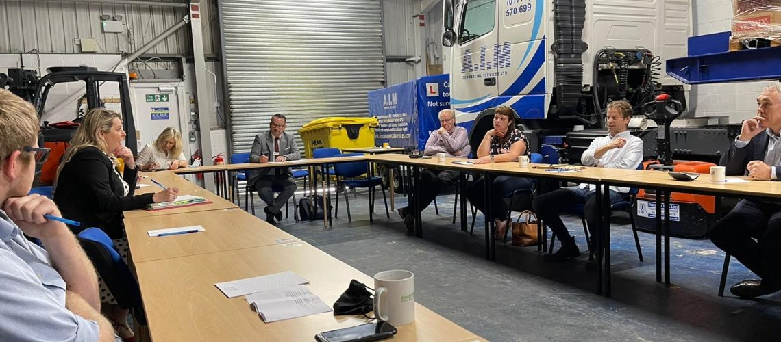 Minister Meets with Logistics UK in Urgent Recruitment Push for Hauliers