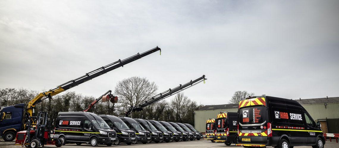 Hiab Strengthens Service Network with New Smart Vans