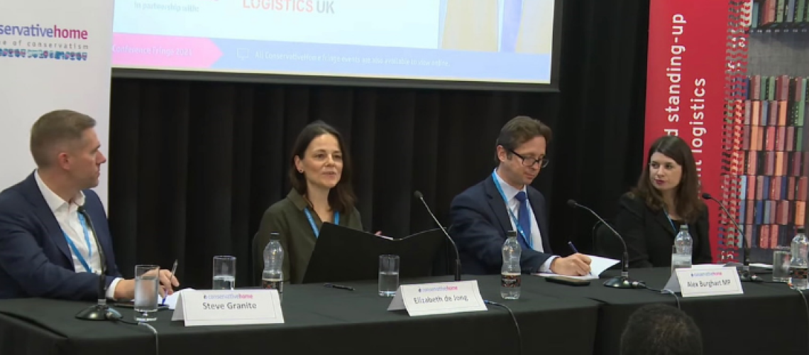 Logistics UK Hosts Skills Panel at Conservative Party Conference 2021